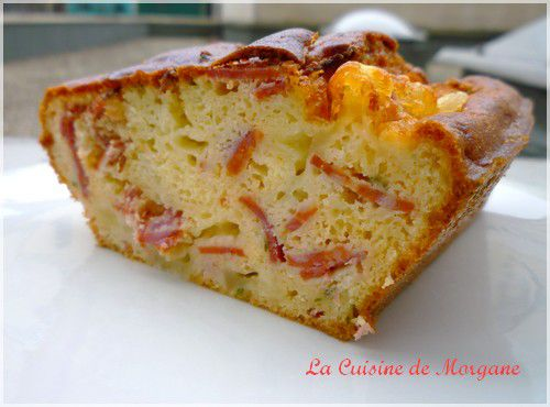 Recette Cake Chorizo Poivron Pamesan