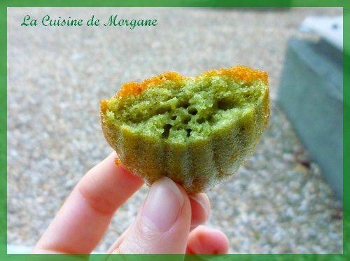 Madeleines la pistache la cuisine de morgane for La cuisine de morgane