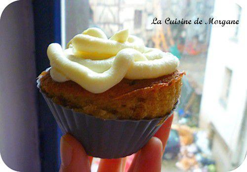Cupcakes aux barres lions et glacage ricotta chocolat for La cuisine de morgane