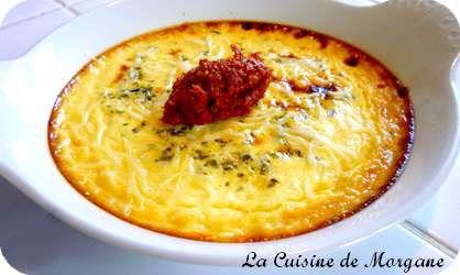 Crème brulée au gorgonzola - La Cuisine de Morgane