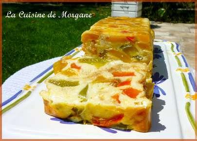 Terrine aux poivrons et ch vre frais tour en cuisine n 48 for La cuisine de morgane