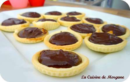 Tartelettes chocolat caf la cuisine de morgane for La cuisine de morgane