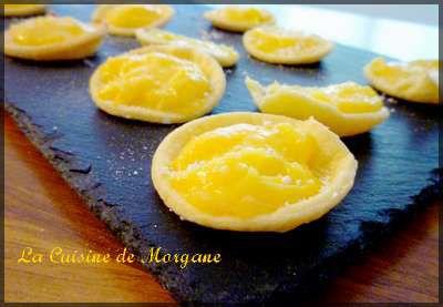 Tartelettes au citron la cuisine de morgane for La cuisine de morgane