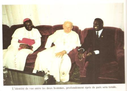 Pape Jean Paul II au Togo 1985