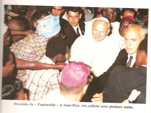 le Pape Jean Paul II au Togo 1985