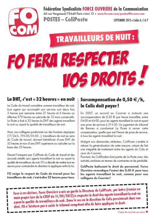 tract Coliposte sept 12