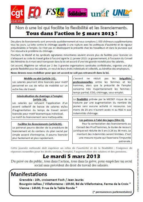 tract 5 mars unitaire