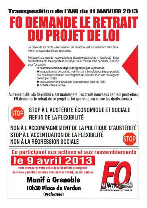 grève 9 avril