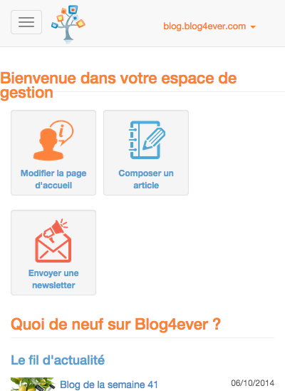 Accueil   Espace de Gestion   Blog4ever.png