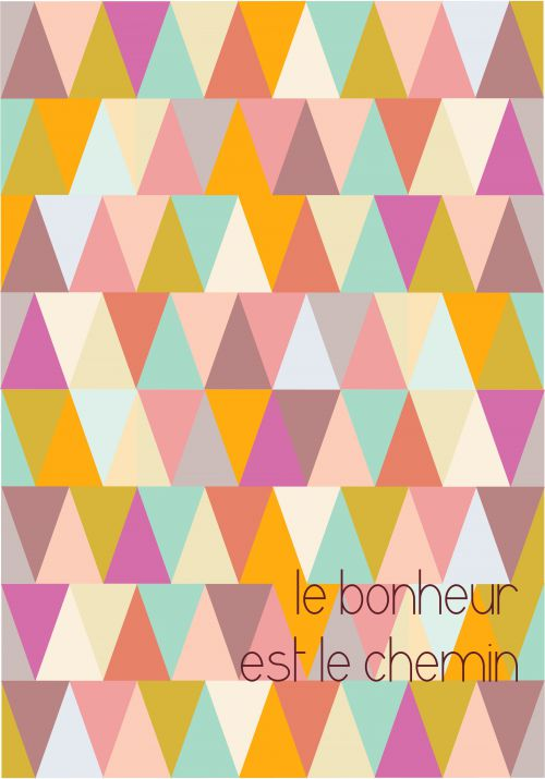 triangle + bonheur