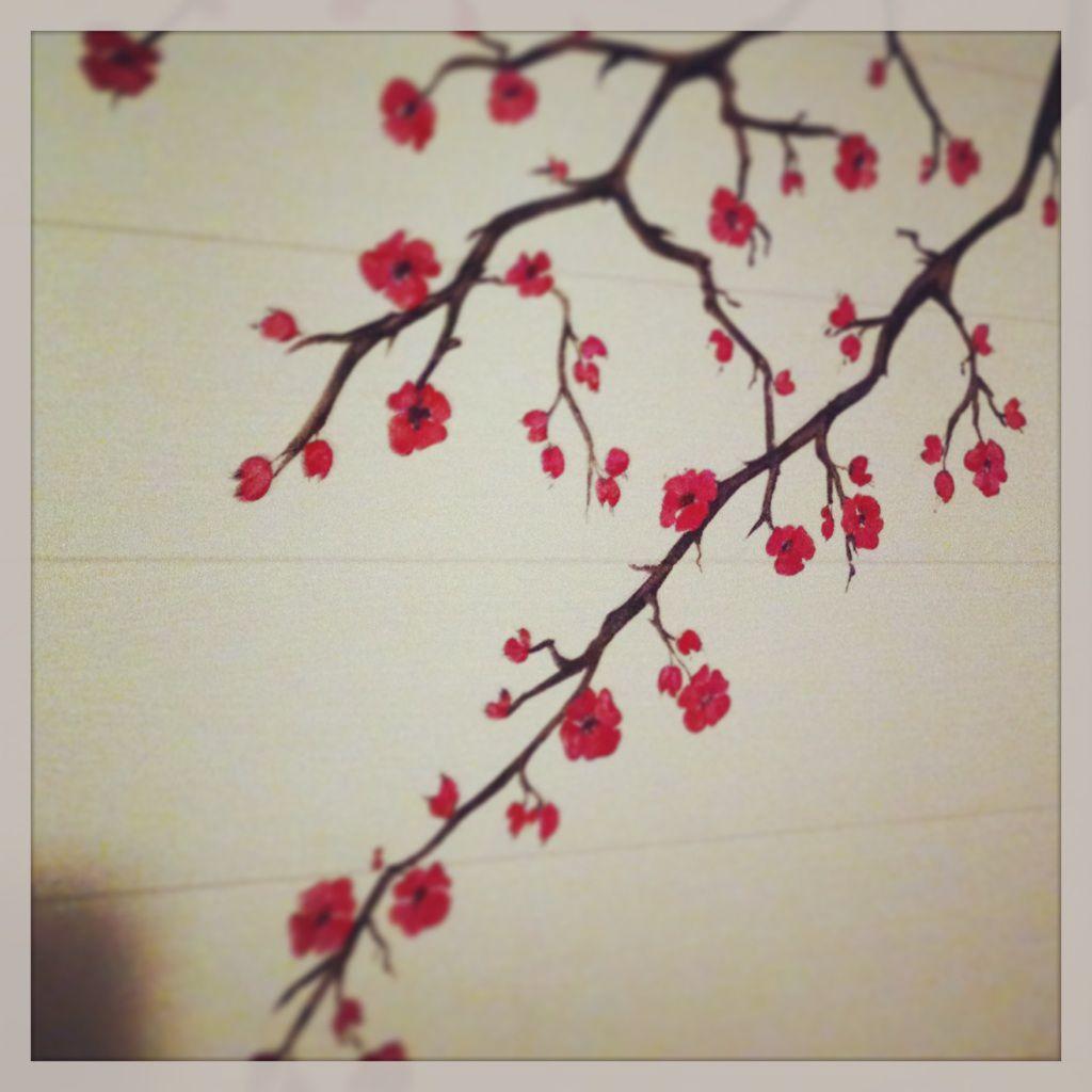 Tattoo arbre japonais fashion designs - Branche de cerisier japonais ...
