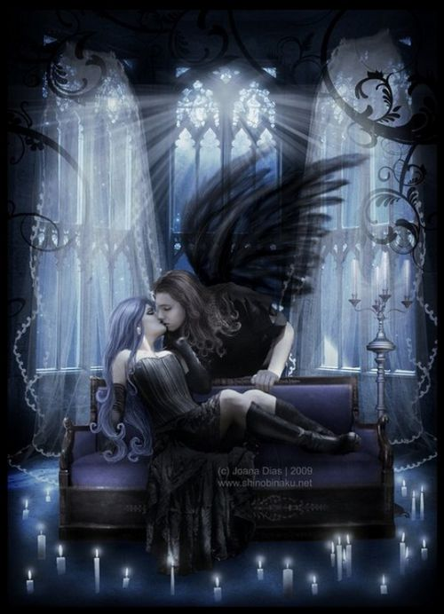 dans fond ecran ange noir artimage_521084_3672091_201110022019190