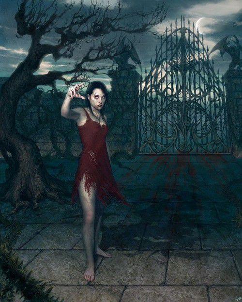 dans fond ecran vampire femelle artimage_521084_3740568_201111024757865