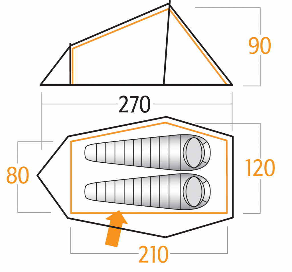 Technical aspects  The Vango Helium could be seen as an Hybrid tent between a tunnel and a self standing tent. Itu0027s composed of a inner shelter of orange ...  sc 1 st  super vivaliste & SUPER VIVALISTE: VANGO HELIUM 200 REVIEW