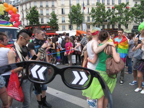 Carlos Ginzburg_L'Homme invisible (5)_GayPride, Paris_2012