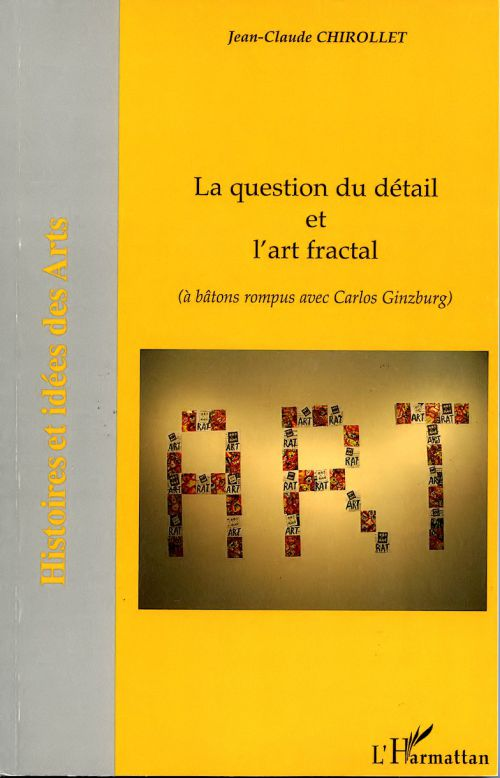 La question du d&eacute;tail et l'art fractal_couverture