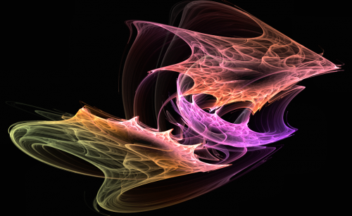 Tourbillon fractal_attracteur étrange