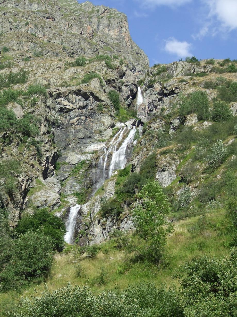 Cascade de Buchardet - Vallon de Navette -  Haute route du Vieux Chaillol - 25.07.07 - 1.JPG