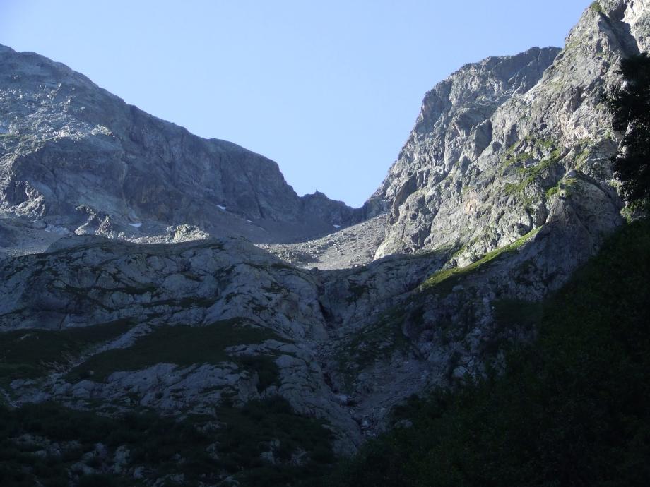 Cirque du Jas de la Lauze et Col de Val Estrèche  - Haute route du Vieux Chaillol - 26.07.07.JPG