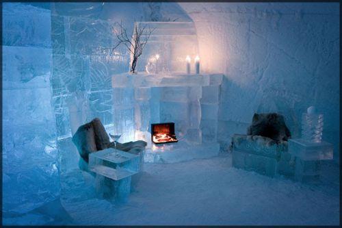 L'hôtel de glace de Sorrisniva, Norvège
