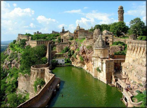 Le Fort Chittorgarh, Inde