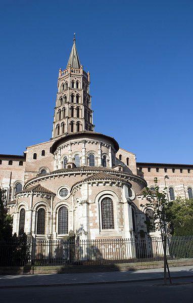 Chevet de la Basilique Saint Sernin