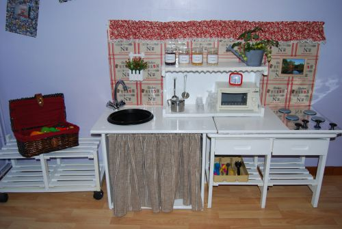 fabriquer cuisine enfant. amazing tuto faire un meuble de cuisine ... - Fabriquer Une Cuisine En Bois Pour Enfant