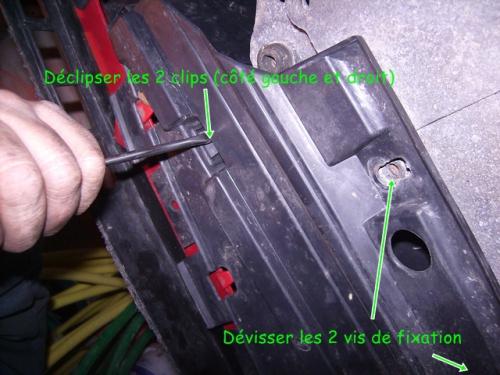 contrôle support moteur scenic suppérieur