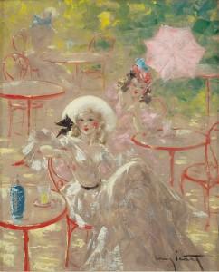 Louis-Icart-Cafe-au-Bois-Impressionism-Paintings-35-242x300.jpg