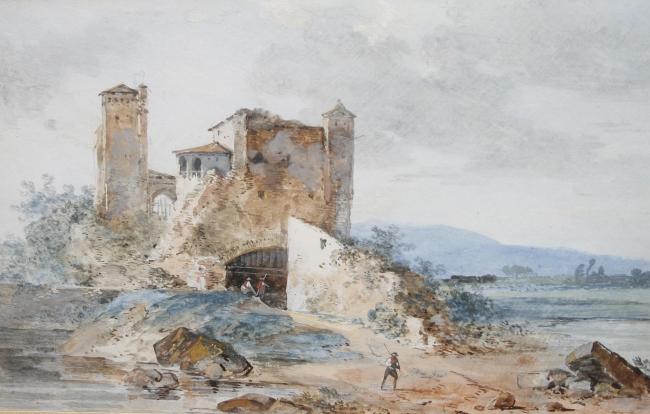 Louis-Gabriel_Moreau_-_Un_paysage_de_rivière_avec_des_chiffres_parmi_les_ruines.jpg