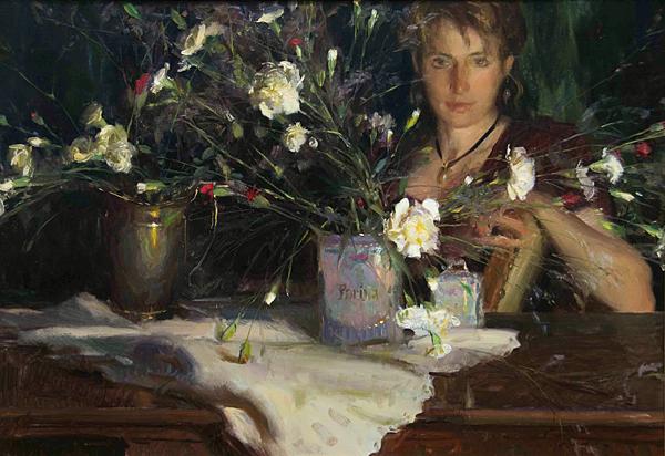 Daniel F. Gerhartz - Ladies and flowers  - Tutt'Art@  (4).jpg