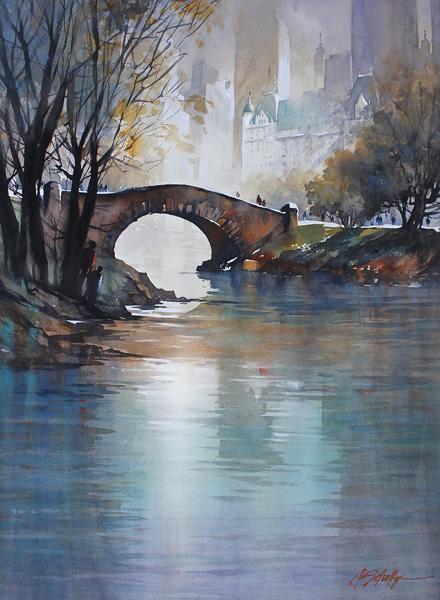 The-Gastow-Bridge-Central-Park-watercolor-30-x-22..jpg