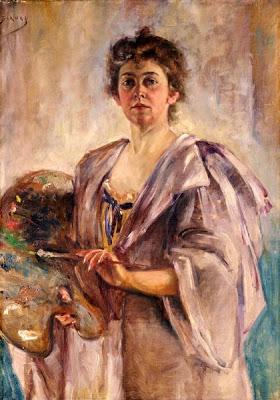 Alice Pike Barney 1857–1931 Self portrait in painting robe.jpg