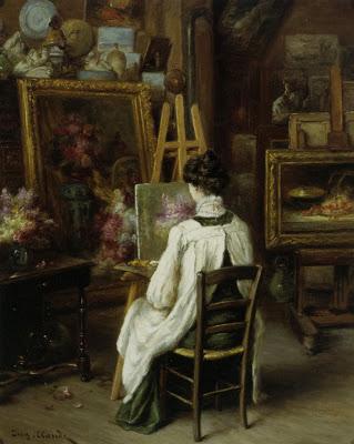 Claude Eugene (1841-1922) In The Artist's Studio.jpg