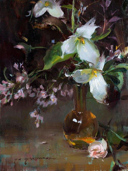 Daniel F. Gerhartz - Ladies and flowers  - Tutt'Art@  (5).jpg
