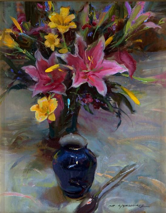 Daniel F. Gerhartz - Ladies and flowers  - Tutt'Art@  (28).jpg