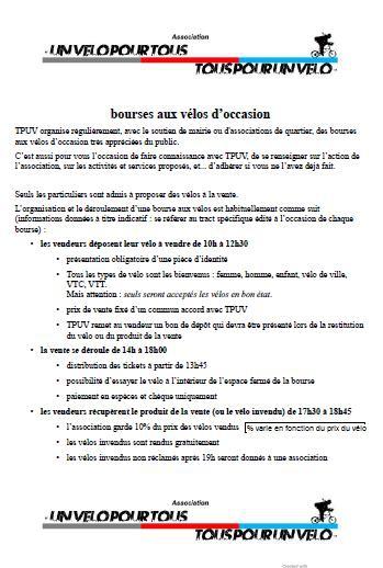 Organisation Bourse à vélos TPUV.jpg
