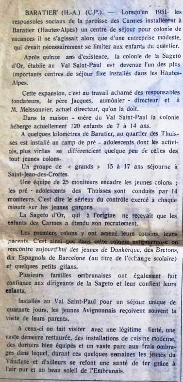 ARTICLE LE MERIDIONAL 1 AOUT 1965 (12) - Copie.JPG