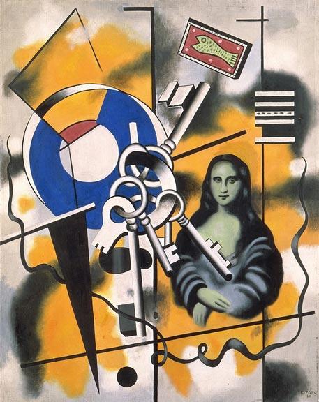 La Joconde aux clés (1930) Fernand Léger.jpg