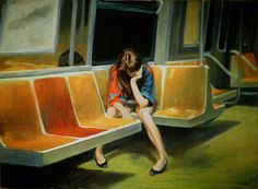 Edward Hopper – Gayle on the F train.jpg