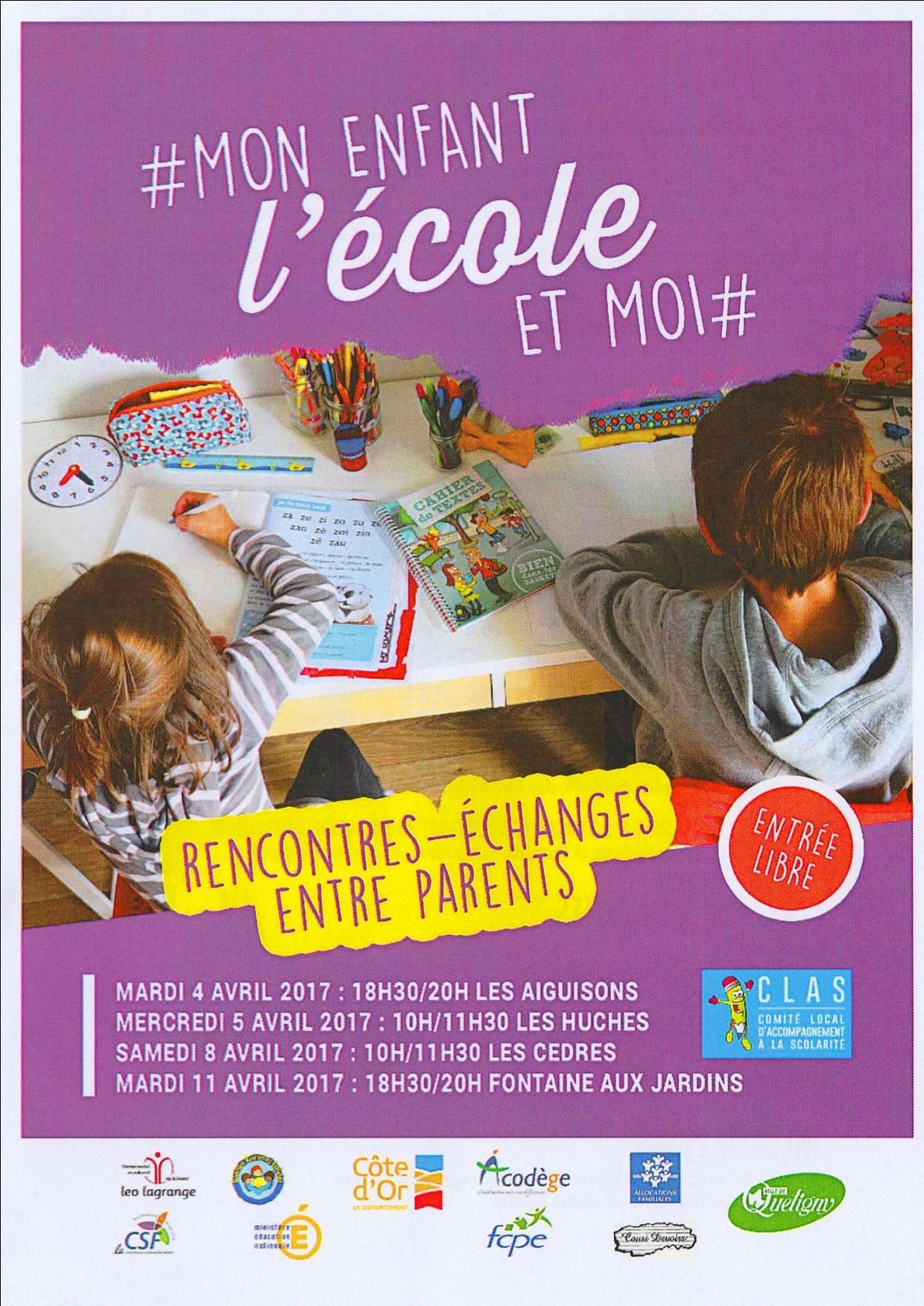Rencontre parents ecole primaire