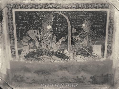 Small IMG_3793 Peinture Laxmi temple.jpg