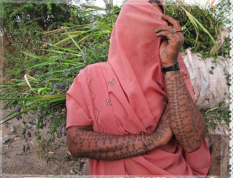 Blog 30x40 cms Tattoo Tribal TT 01 Ahir lady Kheda - Gujarat.jpg