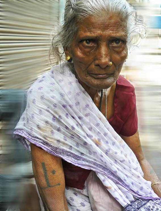 Blog 30x40 cms Tattoo Tribal TT 20 Old bihari lady - Kolkata.jpg