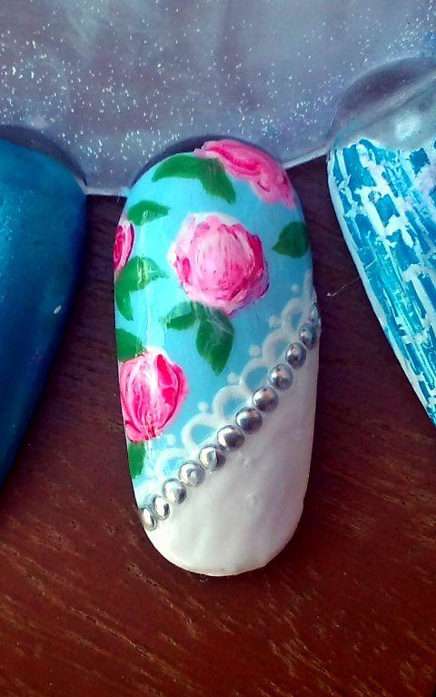 Nail-Art Roses (Sur Capsule)