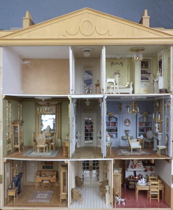 10 le couloir du 2 me maison miniature l 39 chelle 1 12 - Largeur couloir maison ...