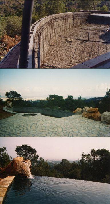 la structure en b ton projet mon plan de piscine creation plan piscine personnalise. Black Bedroom Furniture Sets. Home Design Ideas
