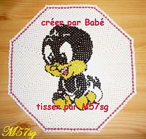 Napperon Bébé Daffybis