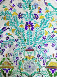 Udaipur city palace décor peint.jpg