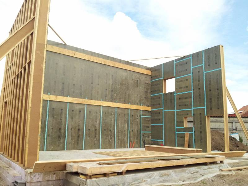 Le mur est mont maison passive dans le nord pas de calais - R mur maison passive ...